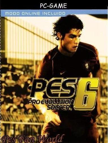 Descargar Pro Evolution Soccer 6 Parche Pes Fan World [Spanish] por Torrent